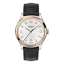 Montblanc Heritage men's two colour black strap watch - Product number 3085228