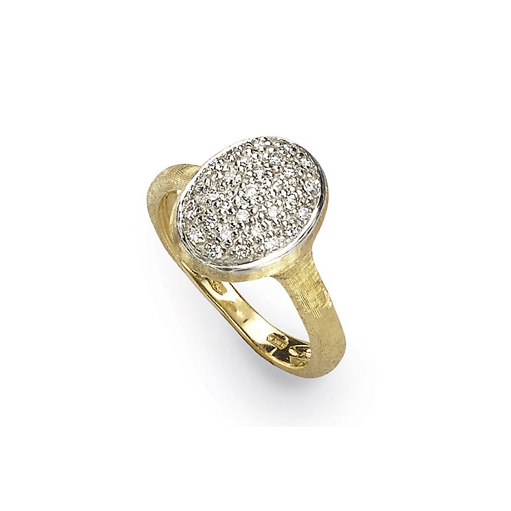 Marco Bicego Siviglia 18ct yellow gold 21pt diamond ring - Product number 3087018
