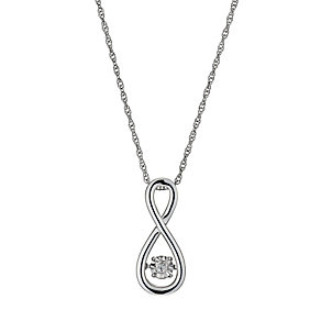 Diamonds in Rhythm Diamond Figure Of Eight Pendant - Product number 3087204