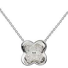 Kit Health Frosted Silver Layered Flower Pendant - Product number 3091880