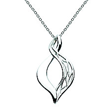Kit Heath Silver Filigree Figure of Eight Pendant - Product number 3091988