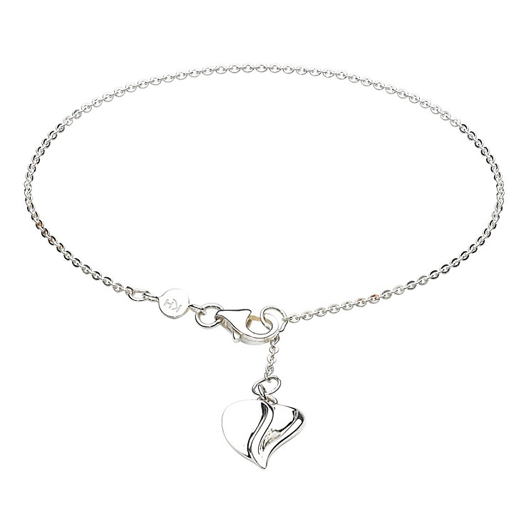 Kit Heath Silver Mayflower Heart Drop Bracelet - Product number 3093034