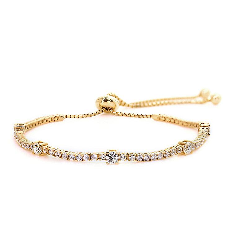 Carat Millennium Brilliants sterling silver slider bracelet - Product number 3094995