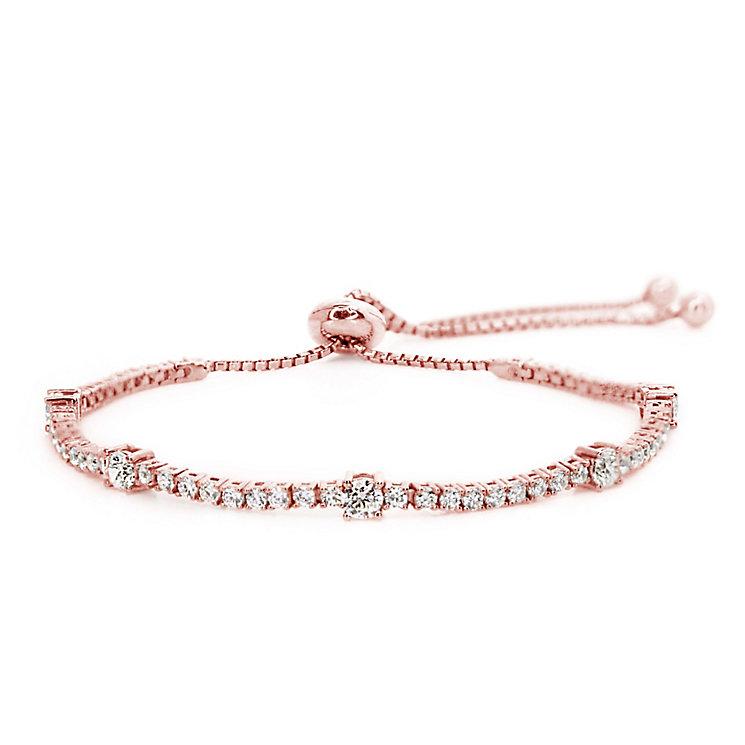Carat Millennium Brilliants sterling silver slider bracelet - Product number 3095002