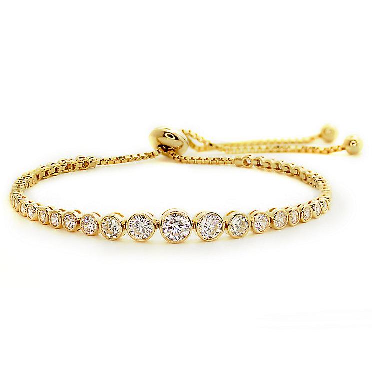 Carat Millennium Brilliants sterling silver slider bracelet - Product number 3095045