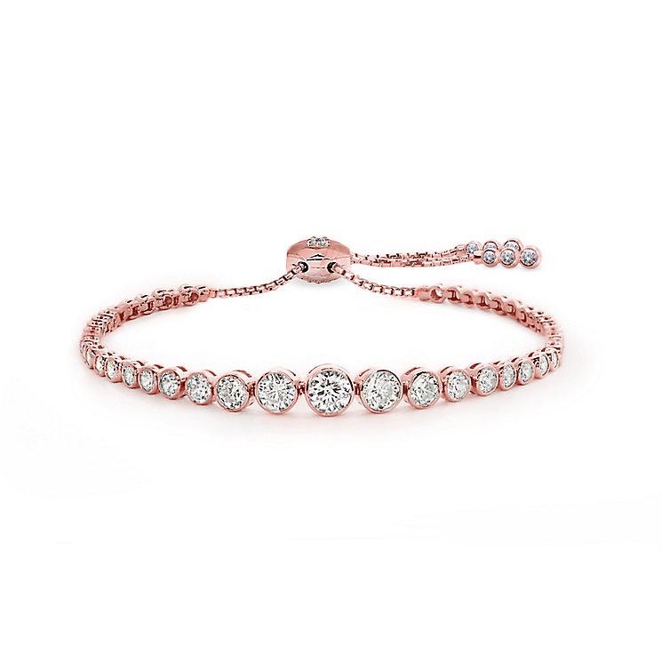 Carat Millennium Brilliants sterling silver slider bracelet - Product number 3095053