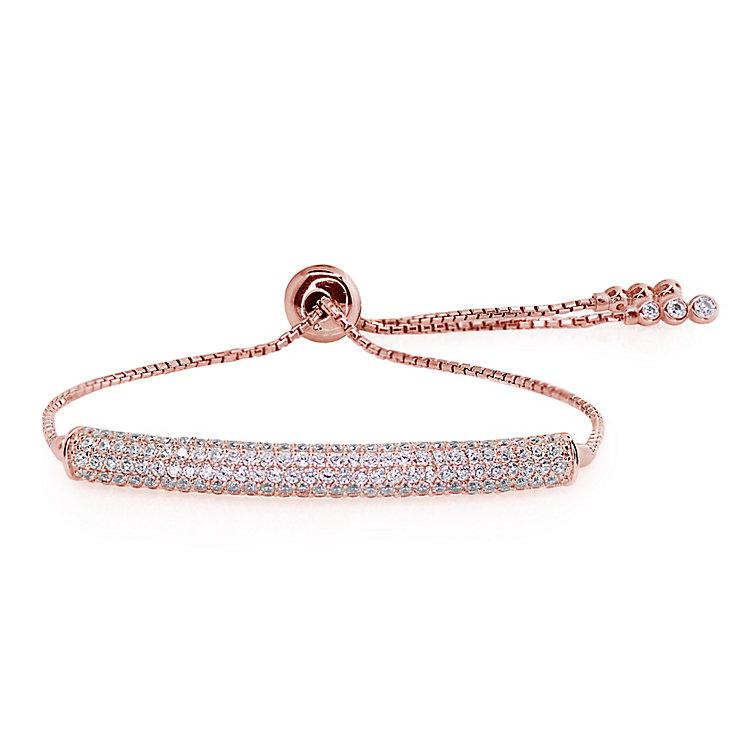 Carat Millennium Brilliants sterling silver slider bracelet - Product number 3095185