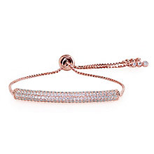 Carat Millennium Brilliants sterling silver slider bracelet - Product number 3095185
