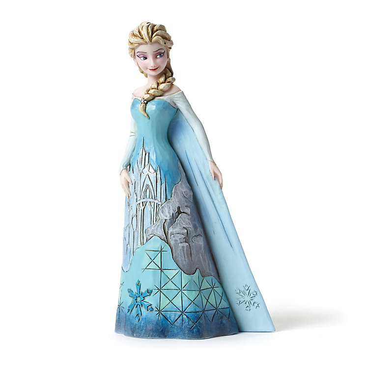 Disney Traditions Frozen Elsa's Fortress of Frost Figurine - Product number 3098958