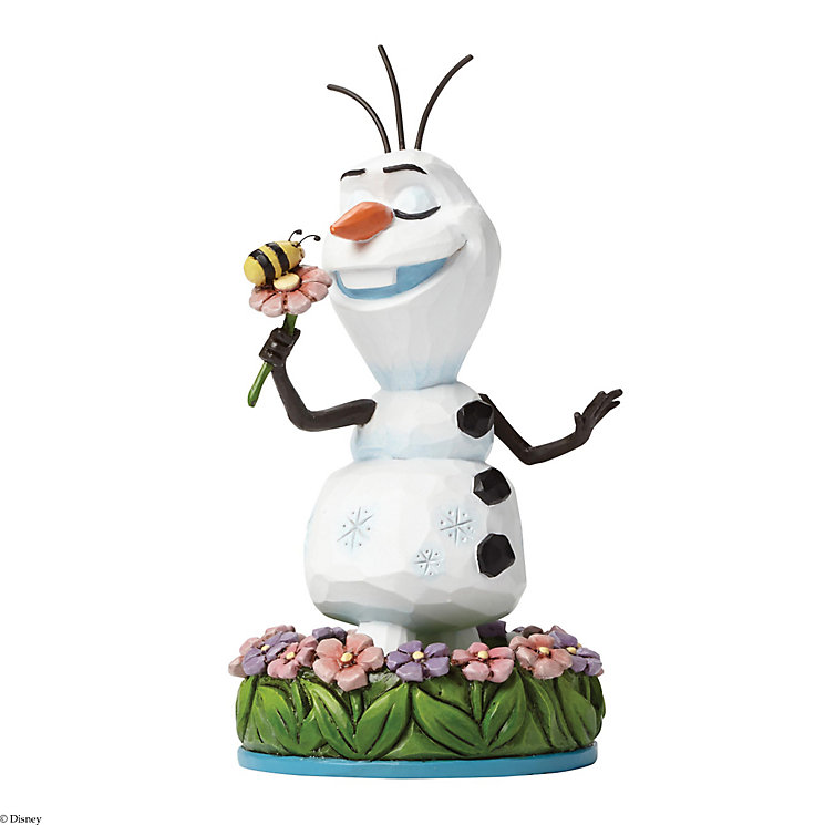 Disney Traditions Frozen Olaf With Flower Figurine - Product number 3098966