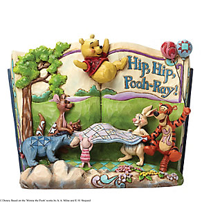 Disney Traditions Hip Hip Pooh-Ray Figurine - Product number 3100065