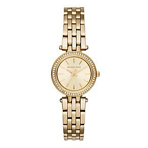 Michael Kors Darci ladies' gold-plated bracelet watch - Product number 3118320