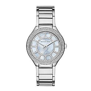 Michael Kors Kerry ladies' stainless steel bracelet watch - Product number 3118347