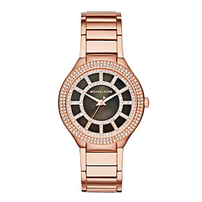 Michael Kors Kerry ladies' rose gold-plated bracelet watch - Product number 3118568