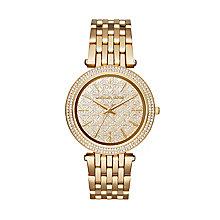 Michael Kors Darci Ladies' Gold Tone Bracelet Watch - Product number 3119157