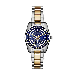 Michael Kors Ryland two colour navy dial bracelet watch - Product number 3120171
