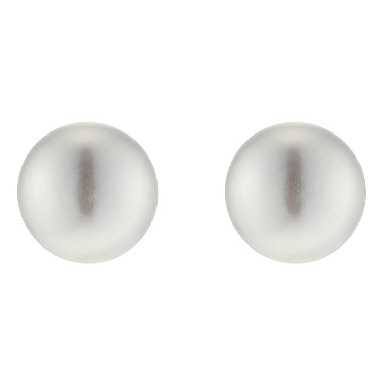 9ct Gold Cultured Freshwater Pearl Stud Earrings - Product number 3127087