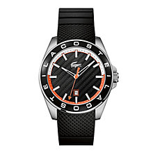 Lacoste Men's Black Silicone Strap Watch - Product number 3186547
