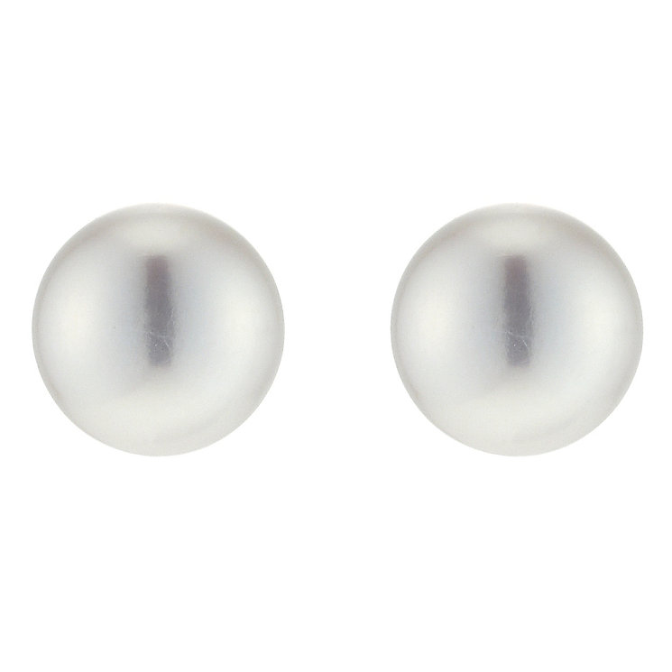 9ct Gold Cultured Freshwater Pearl Stud Earrings - Product number 3200558