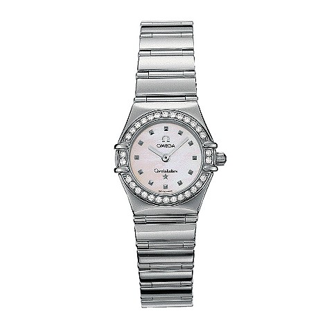 Omega Constellation My Choice ladies' stainless steel watch
