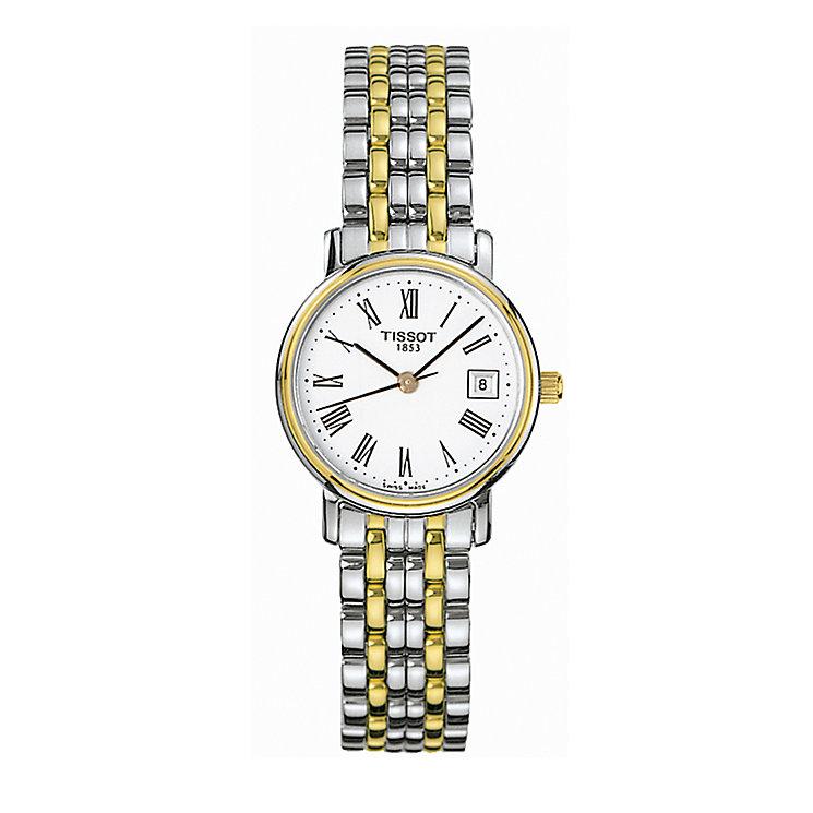 Tissot Desire ladies' two-colour bracelet watch - Product number 3351572