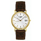 Tissot men's gold plated desire strap watch - Product number 3365174