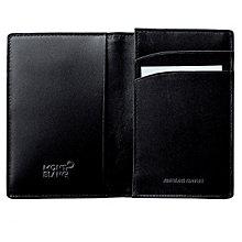 Montblanc Meisterstuck black business card holder - Product number 3366243