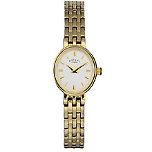 Rotary Ladies' Gold-Plated Bracelet Watch - Product number 3382206
