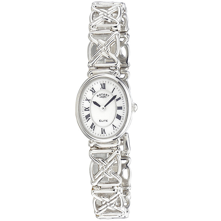 Rotary ladies' sterling silver bracelet watch - Product number 3382257