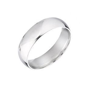 18ct White Gold Extra Heavy Wedding 4mm Ring - Product number 3399966