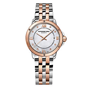 Raymond Weil Tango ladies' two colour bracelet watch - Product number 3402355