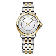 Raymond Weil Tango ladies' two colour bracelet watch - Product number 3402509