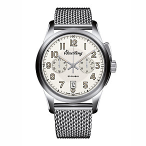 Breitling Transocean men's stainless steel bracelet watch - Product number 3422895