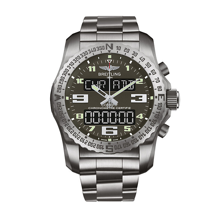 Breitling Cockpit B50 men's titanium bracelet watch - Product number 3423832