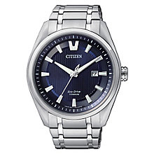 Citizen Eco-Drive men's titanium bracelet watch - Product number 3426238