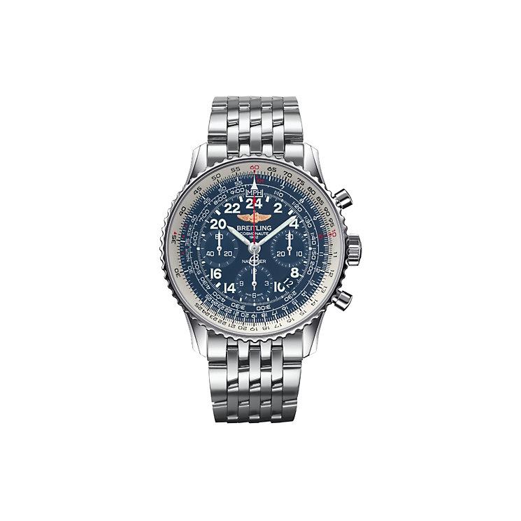 Breitling Navitimer Cosmonaute men's bracelet watch