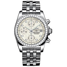 Breitling Chronomat 38 ladies' stainless steel watch - Product number 3426483