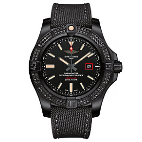 Breitling Avenger Blackbird men's titanium diamond watch - Product number 3426505