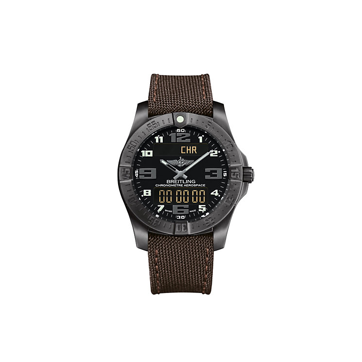 Breitling Aerospace Evo Night Mission men's strap watch