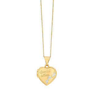 9ct Gold Special Mum Locket - Product number 3427307