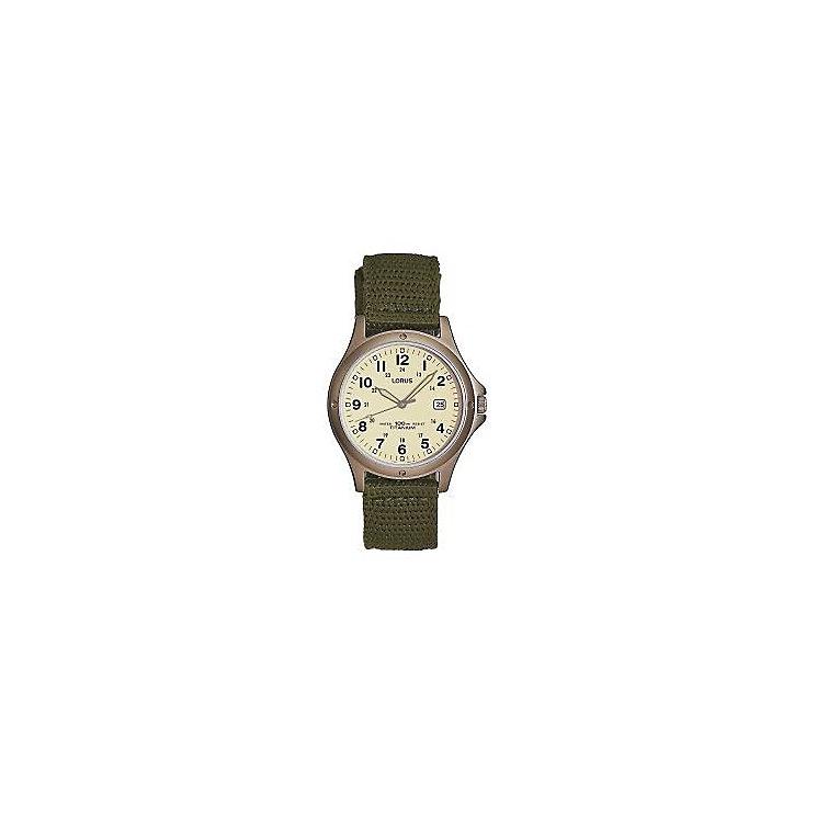 Lorus Men's Titanium Watch with Swim-Safe Strap - Product number 3427374