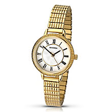 Sekonda Ladies' Yellow Gold Plate Link Bracelet Watch - Product number 3434591
