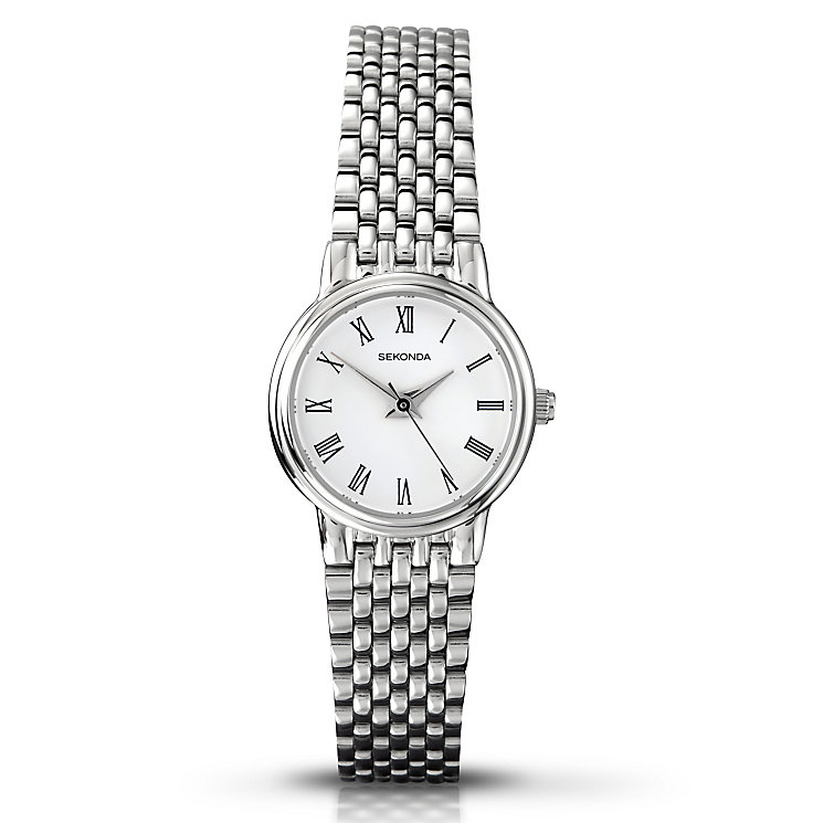 Sekonda Ladies' Stainless Steel Link Bracelet Watch - Product number 3434672