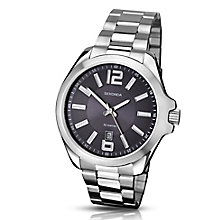 Sekonda Men's Blue Dial & Stainless Steel Bracelet Watch - Product number 3434680
