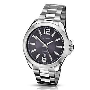 Sekonda Men's Blue Dial & Stainless Steel Bracelet Watch - Product number 3434680
