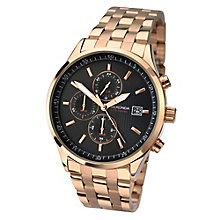 Sekonda Men's Rose Gold Plated Bracelet Watch - Product number 3434990