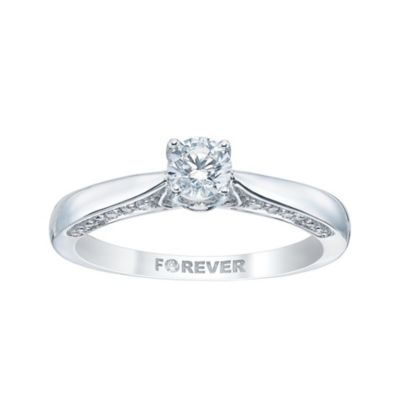 The Forever Diamond Diamond White Gold Rings HSamuel