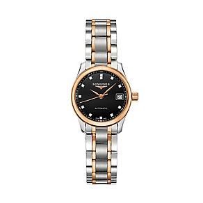 Longines ladies' two colour bracelet watch - Product number 3447839