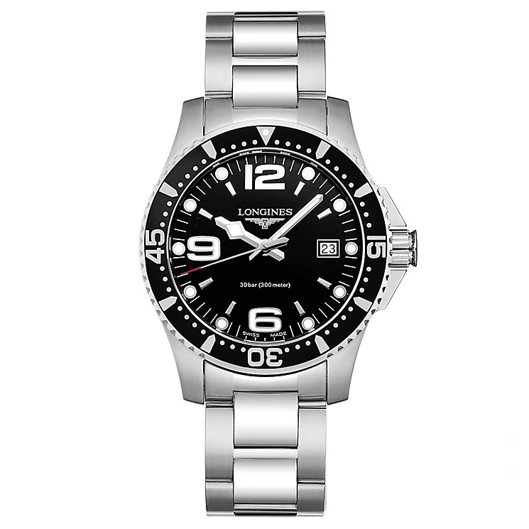 Longines Men's Stainless Steel Round Bracelet Watch - Product number 3448150