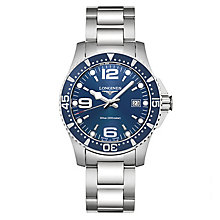 Longines Men's Stainless Steel Round Bracelet Watch - Product number 3448185